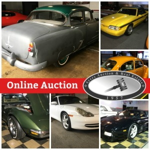 JR's Used Cars, Online Auction
