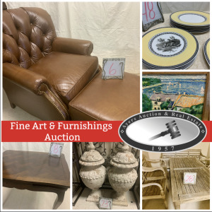 Online Only, Fine Art & Furnishings