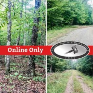 Online Only Absolute Auction- 184 acres adjoining the Big South Fork National Park in tracts from 5 acres to 64 acres each