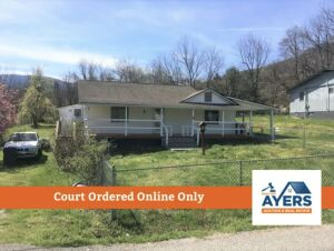 Court Ordered Online Only Auction * House on Park Rd., Caryville, TN