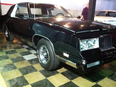1984 Oldsmobile Ciera Brougham, VIN1G3AM47Y8ER357974, Mileage showing 61241, V8, auto, cloth interior