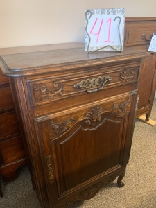 Furniture - Antique French Wood Chest
