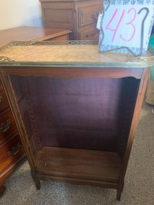 Furniture - Open book case w/ tray top