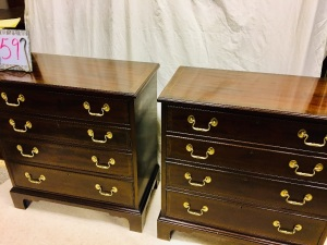 Furniture - 2 Couneill end tables / chest
