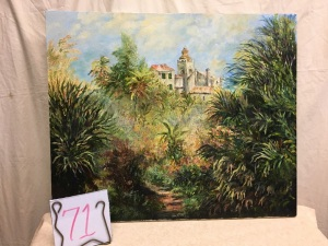 Art painting on canvas, no frame, Ruby Dalton artist