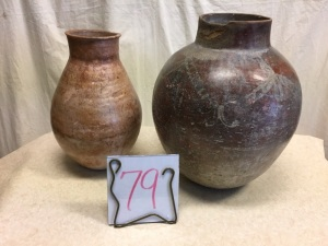 Home Furnishings - 2 pottery pots