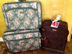 Suitcases, 3 soft sided