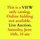 This is a VIEW only catalog.  Online bidding not available.